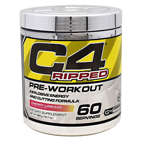 Cellucor iD Series C4 Ripped - Cherry Limeade - 60 Servings - 810390028566