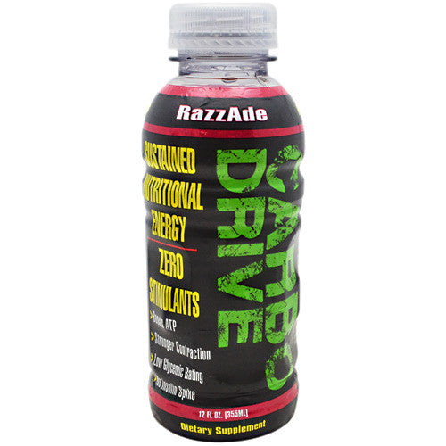Train Naked Labs Carbo Drive - RazzAde - 12 Bottles - 10856675002200
