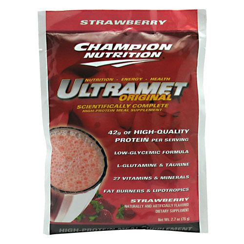 Champion Nutrition Ultramet Original - Strawberry - 60 Packets - 027692130501
