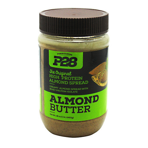 P28 Foods High Protein Spread - Almond Butter - 16 oz - 738416000030