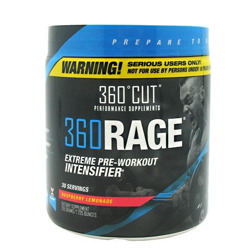 360Cut 360Rage - Raspberry Lemonade - 30 Servings - 850829006024