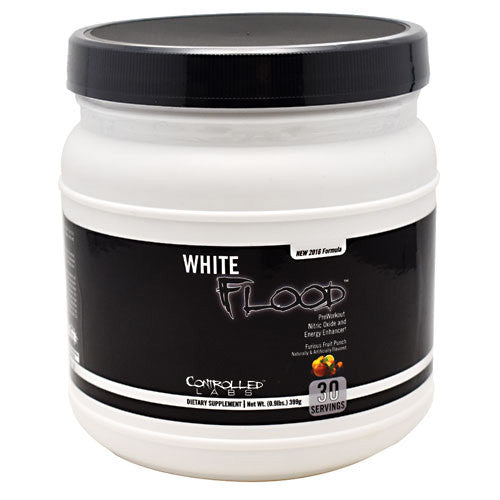 Controlled Labs White Flood - Furious Fruit Punch - 30 ea - 856422005549