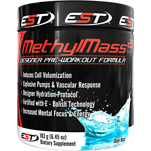 EST Methyl Mass 2.1 - Blue Razz - 30 Servings - 895524000908
