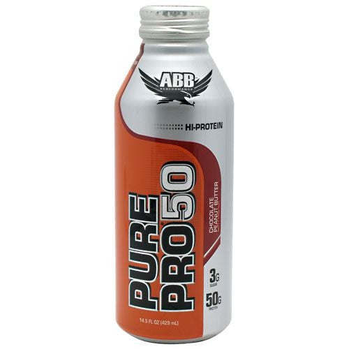 ABB Pure Pro 50 - Chocolate Peanut Butter - 12 Cans - 00045529856653