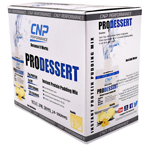 CNP Performance ProDessert - Vanilla - 10 Packets - 683623201117