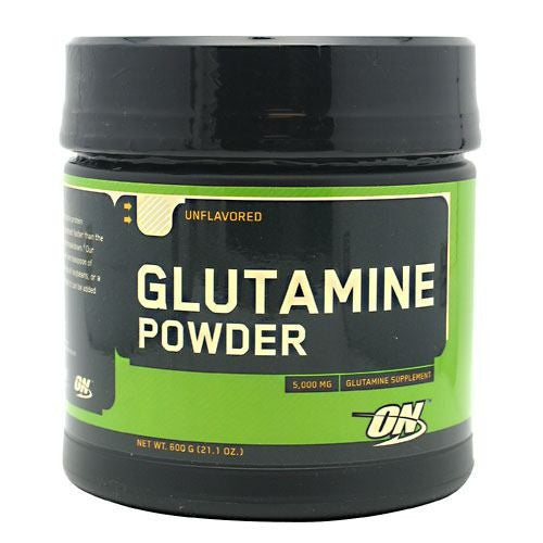 Optimum Nutrition Glutamine Powder - Unflavored - 600 g - 748927020304