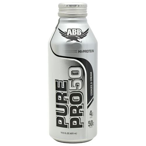 ABB Pure Pro 50 - Cookies & Cream - 12 Cans - 00045529856684