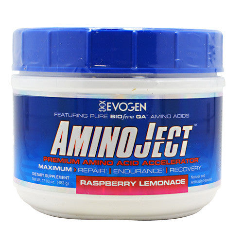 Evogen AminoJect - Raspberry Lemonade - 30 Servings - 685450688130