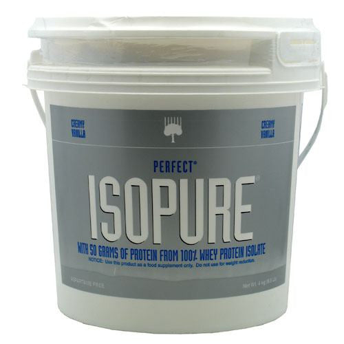 Natures Best Perfect Isopure - Creamy Vanilla - 8.8 lb - 089094021214