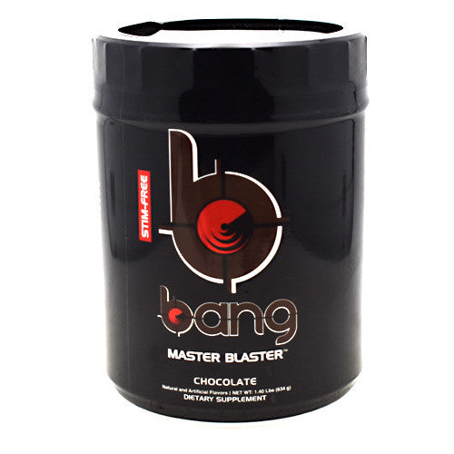 Bang Stim-Free Master Blaster - Chocolate - 20 Servings - 610764712332