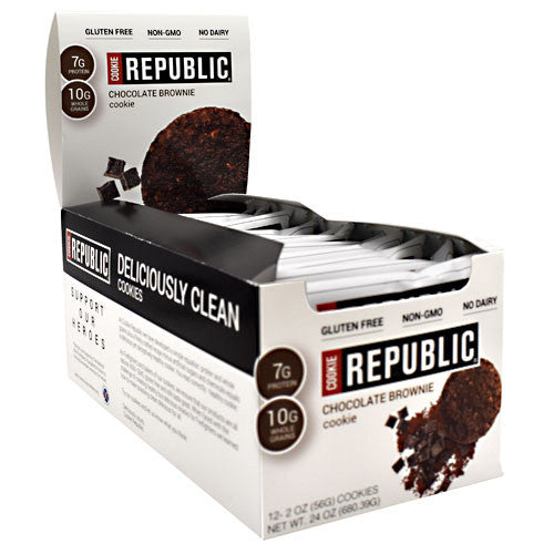 Cookie Republic Cookie Republic - Chocolate Brownie - 12 ea - 862302000337