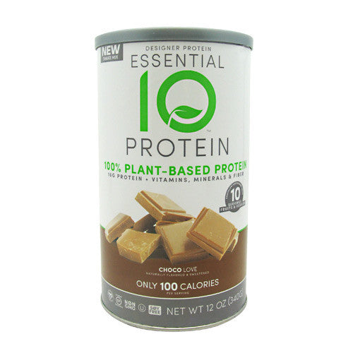 Designer Protein Essential 10 Protein - Choco Love - 12 oz - 844334010713