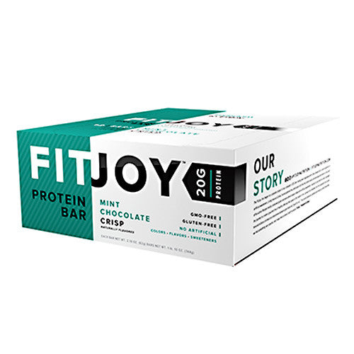 Cellucor FitJoy Bar - Mint Chocolate Chip - 12 Bars - 810390028139