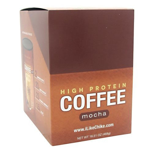 Chike Nutrition High Protein Coffee - Mocha - 12 Packets - 185689000524