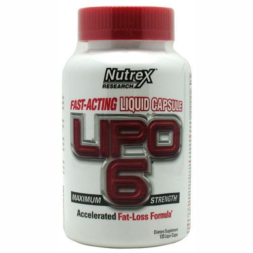 Nutrex Lipo-6 White Label - 120 ea - 853237000486