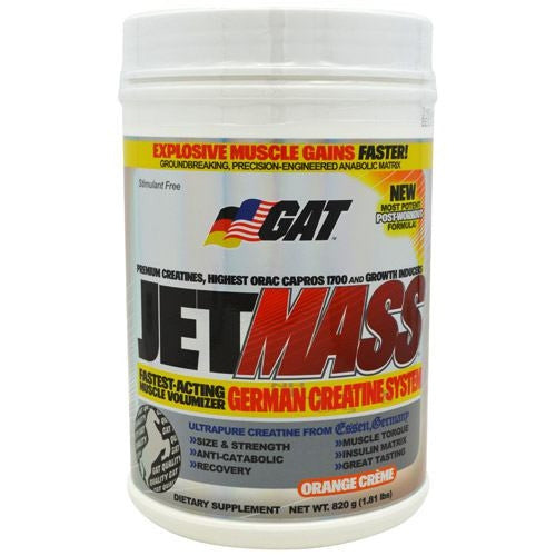 GAT JetMASS - Orange Creme - 1.83 lb - 859613538345