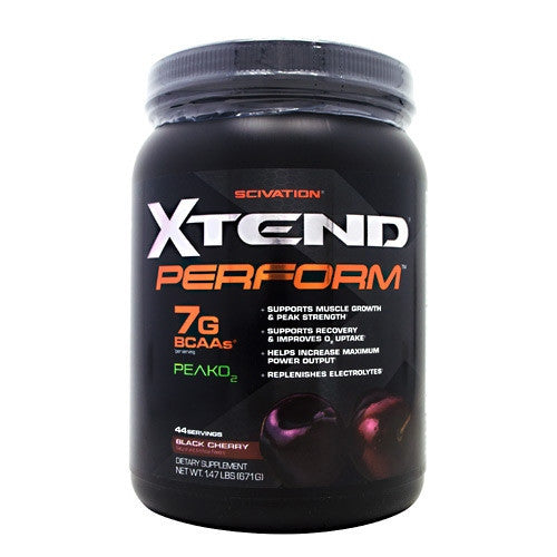 Scivation Xtend Perform - Black Cherry - 44 Servings - 812135021252