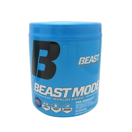 Beast Sports Nutrition Beast Mode - Blue Raspberry - 30 Servings - 631312799711