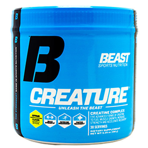 Beast Sports Nutrition Creature - Citrus - 150 g - 631312801070