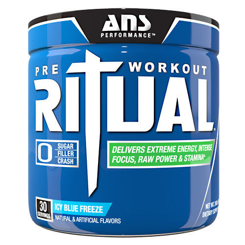 ANS Performance Ritual - Icy Blue Freeze - 30 Servings - 799559491727