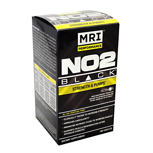 MRI NO2 Black - 180 Caplets - 633012072330