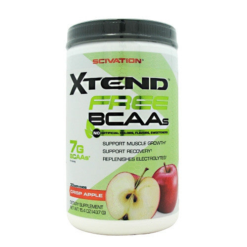 Scivation Xtend Free - Crisp Apple - 30 Servings - 181030000953
