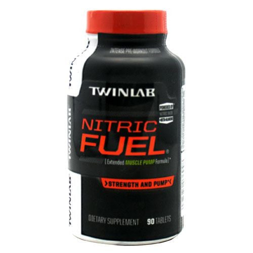 TwinLab Strength + Pump Nitric Fuel - 90 Tablets - 027434036948