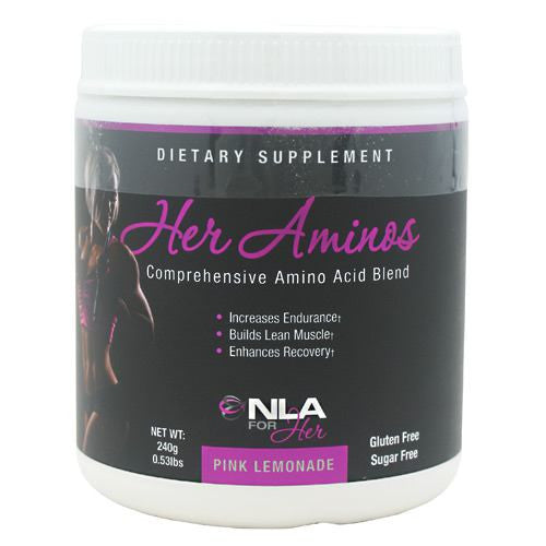 NLA For Her Her Aminos - Pink Lemonade - 30 Servings - 700220840485