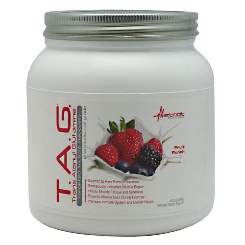 Metabolic Nutrition T.A.G. - Fruit Punch - 400 g - 764779698874