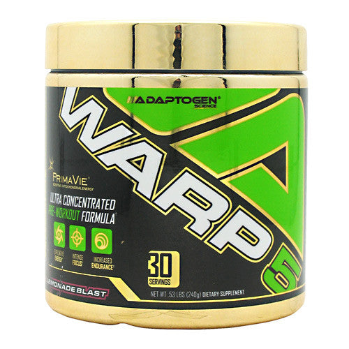 Adaptogen Science Warp-5 - Pink Lemonade Blast - 30 Servings - 612524152068