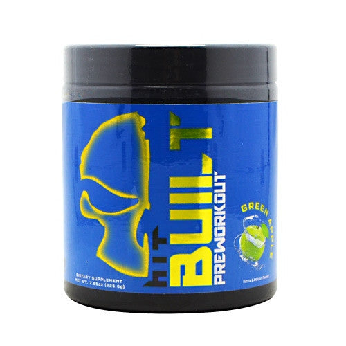 HiT Supplements Built Preworkout - Green Apple - 7.95 oz - 040232300585