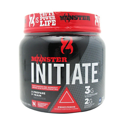 CytoSport Monster Initiate - Fruit Punch - 30 Servings - 660726802601