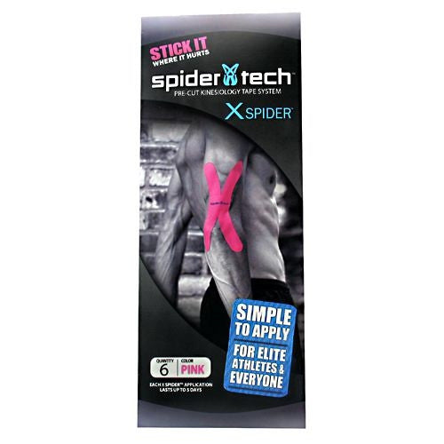 Spidertech X Spider - Pink - 6 ea - 628369003038