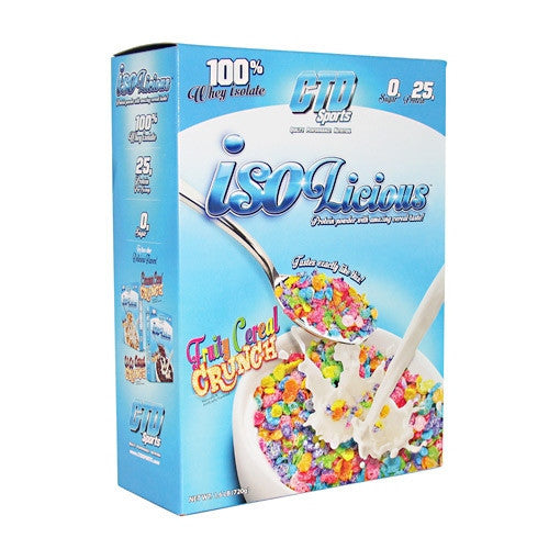 CTD Sports Isolicious - Fruity Cereal Crunch - 1.6 lb - 748252905314