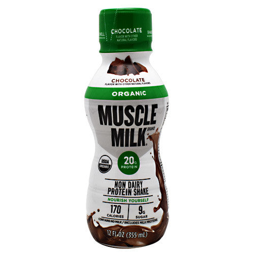 CytoSport Organic Muscle Milk RTD - Chocolate - 12 Servings - 876063007757
