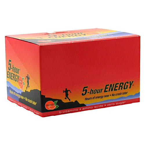 Living Essentials 5-hour Energy - Orange - 12 ea - 719410300128