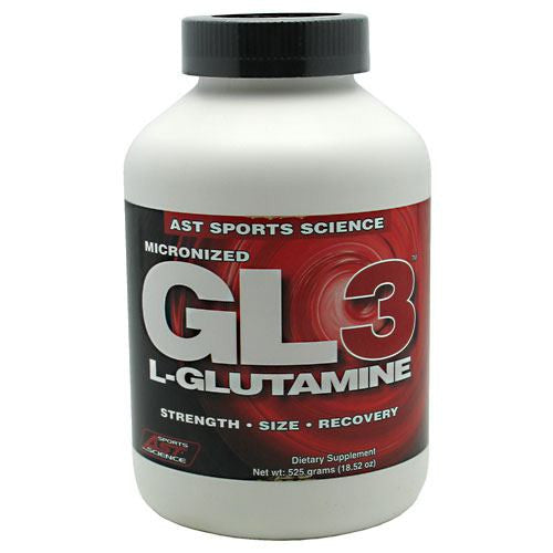 AST Sports Science GL3 L-Glutamine - 525 g - 705077002789