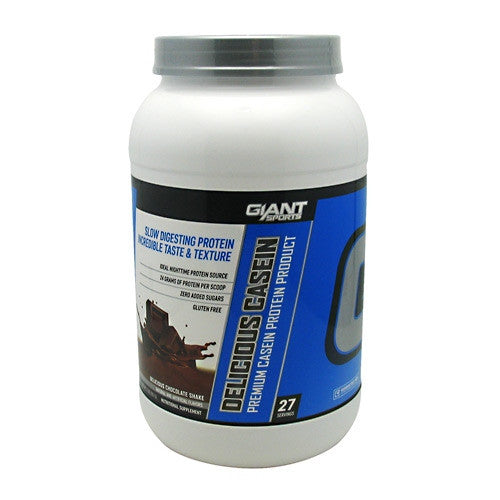 Giant Sports Products Delicious Casein - Delicious Chocolate Shake - 2 lb - 639385330329