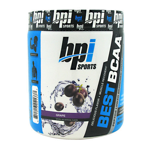 BPI Best BCAA - Grape - 30 Servings - 811213021337