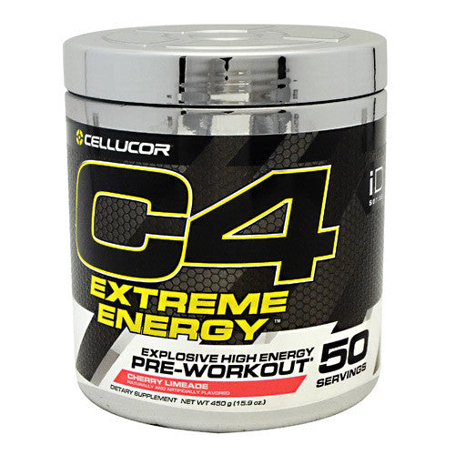 Cellucor iD Series C4 Extreme Energy - Cherry Limeade - 50 Servings - 842595100600