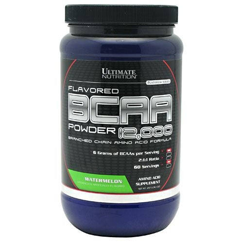 Ultimate Nutrition BCAA 12,000 - Watermelon - 457 g - 099071004475