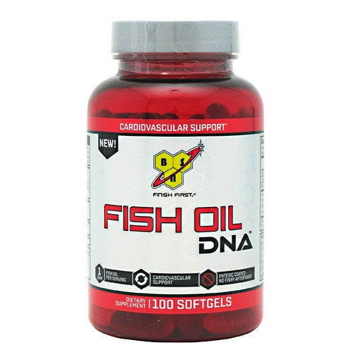 BSN DNA Fish Oil - 100 Softgels - 834266002993