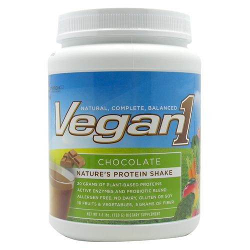 Nutrition53 Vegan1 - Chocolate - 1.6 lb - 810033011467
