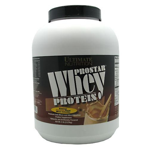 Ultimate Nutrition ProStar Whey Protein - Chocolate - 5 lb - 099071001498