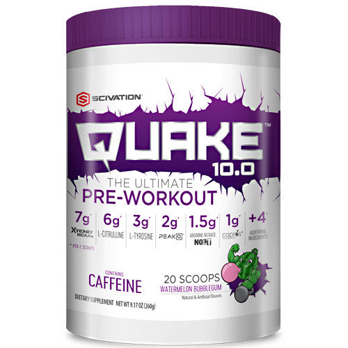 Scivation Quake 10.0 - Watermelon Bubblegum - 20 ea - 812135021511