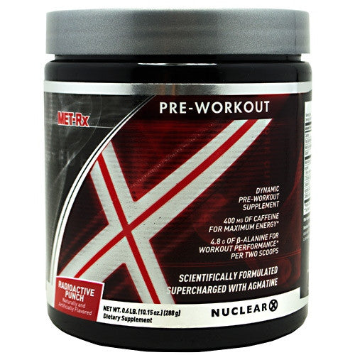 MET-RX Nuclear X - Radioactive Punch - 288 g - 786560589369