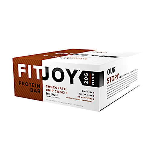 Cellucor FitJoy Bar - Cookie Dough - 12 Bars - 810390028092