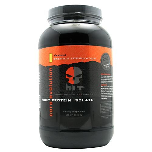 HiT Supplements Whey Protein Isolate - Vanilla - 30 Servings - 793573192387