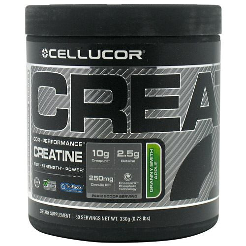 Cellucor COR-Performance Series Creatine - Granny Smith Apple - 30 Servings - 632964304124