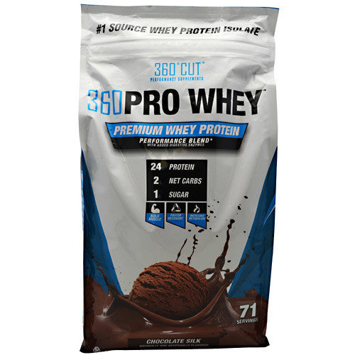 360Cut 360 Pro Whey - Chocolate Silk - 71 Servings - 850829006277